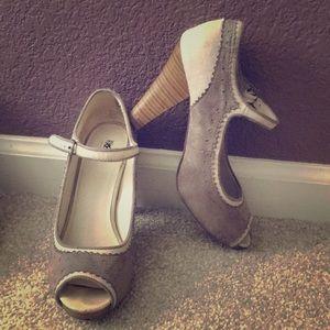 Oxford Ankle Strap Heels